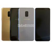 Samsung Galaxy A8 (2018) SM-A530F 32GB (Unlocked) Smartphone Black Gray Sim Free