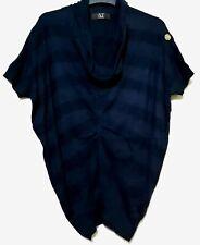 Atsuro Tayama navy cowlneck top