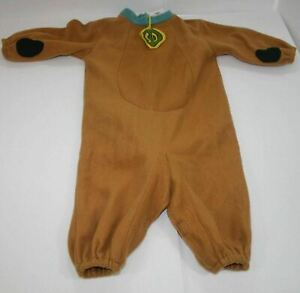 Scooby Doo Jumpsuit Costume Size Toddler 2T (Rubie's Costumes) Cartoon Network