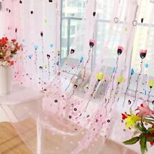 Hot Blue Pink Curtain Window Curtains Screen Balloon Pattern Home Decor