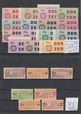 DDR Dienstmarken ZKD MiNr. 1 - 15 & IV - X postfrisch **