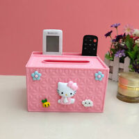 New Pink Colour Hello Kitty Multifunctional Storage Box Girls Lovely Storage Box