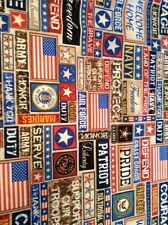 Fabric True Colors 1340-01, Patriotic, sold by the yard