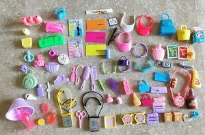 Vintage Barbie Accessories Lot Headphones Radio Visor Combs Glasses 90's