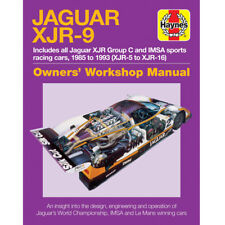 Jaguar XJR-9 1985-93 Owners Workshop Manual by Haynes