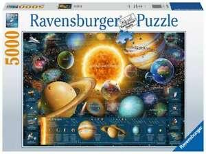 RAVENSBURGER PUZZLE*5000 TEILE*PLANETENSYSTEM*NEU+OVP
