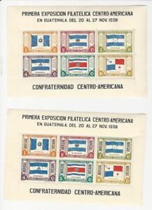 Guatemala, Postage Stamp, #C99, CO7 Mint LH, 1938 Flag, JFZ