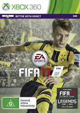 FIFA 17 With PREORDER Bonus Xbox 360 Australian Stock EA
