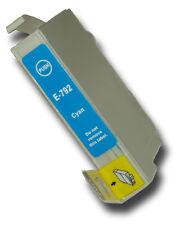 1 Cyan Compatible no-OEM T0792' búho' Cartucho De Tinta Con Epson Stylus PX800FW