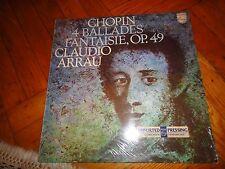 CHOPIN : 4 Ballades Fantaisie,OP. 49 - Claudio Arrau ( Piano ) : Stereo