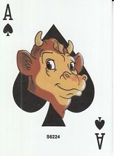 1 Single Wide Swap Playing Card ACE OF SPADES ELSIE THE COW ADVERTISEMENT