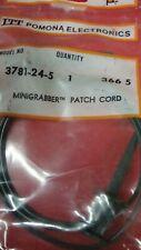 """pomona 3781-24-5  24"""" mini grabber test clip each end (1 green)"""