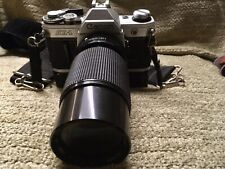 JAPANESE Canon AE-1 35mm Camera Precision-MC Lens Power Winder And Strap As Is