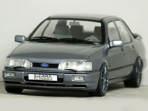 1:18 Custom FORD SIERRA Sapphire RS COSWORTH (Moonstone) MODIFIED TUNING Code 3