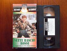 Sette baschi rossi (Mario Siciliano, Ivan Rassimov) - VHS ed. Nocturno rara