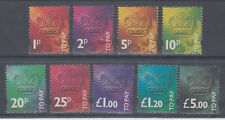GREAT BRITAIN DECIMAL POSTAGE DUES, TO PAY, SETS, MULTIPLES, PACKS, etc