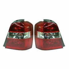 2004 - 2007 TOYOTA HIGHLANDER TAIL LAMP LIGHT LEFT AND RIGHT PAIR SET