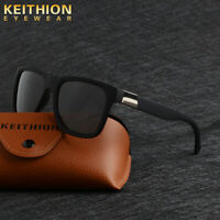 KEITHION Square Polarized Sunglasses Unisex Driving Sports Mirror Glasses UV400