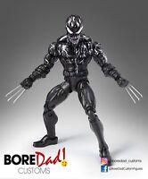 Custom Marvel Legends Venom Wolverine - Dc Universe, Marvel, Neca