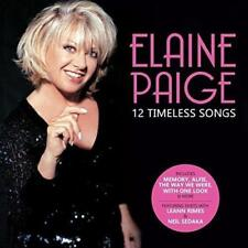 Elaine Paige - 12 Timeless Songs (NEW CD)