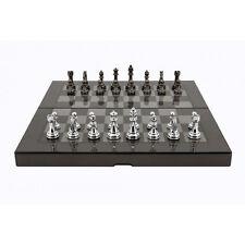 New Dal Rossi Carbon Fiber Folding Chess Board game