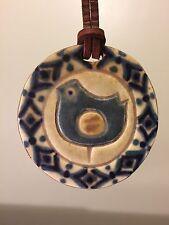 Mid-Century KA DANMARK Pottery Necklace VINTAGE Made In DENMARK