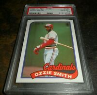 1989 O-PEE-CHEE OPC #230 OZZIE SMITH STL CARDINALS HOF GEM MINT PSA 10