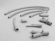 Lambretta LD 125 150 Grey Cable Rubber Protection Set Handlebar CASA