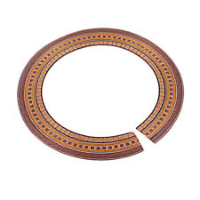 Wood Guitar Soundhole Rosette Inlay for Acoustic/Classical Guitars DIY