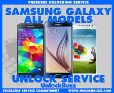 Virgin  Bell Samsung Unlock Code Galaxy S8 S7 S6 S5 S4 Edge Note Core Alpha Plus