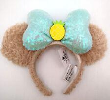 Disney Park Minnie Mouse Ears Edition ShellieMay Sequins Pineapple Headband