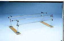 Folding Parallel Bars - Adult, 7' Handrails, Wood Base  1 EA