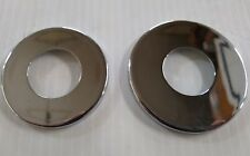 Chrome Dust Shield Covers For Harley Neck Bearings BT 49-Ltr & Sportster 82-03