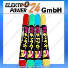 Neon Stifte Marker für Leuchttafel Werbetafel Schreibtafel Rot Grün Gelb Blau