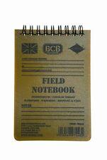 BCB Impermeable Cuaderno De Campo Ideal Para Ejército Militar/Bloc de notas pedidos uso A6