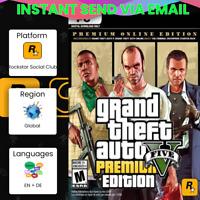 Grand Theft Auto V GTA 5 - Premium Online Edition PC Key 🔥 SEND IN 5 MIN!
