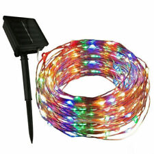 20M 200LED Solar Power Fairy Light String Lamps Party Home Decor Garden Outdoor
