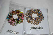 Crystal Diamante Costume Brooches & Pins