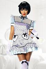 """Dienstmädchen Kostüm """"Alice"""" Nanny Maid Karneval Set : Kleid, Haarreif, String"""