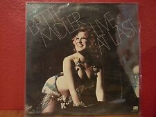 Bette Midler Live At Last LP Atlantic SD 2-9000 1977 Vinyl