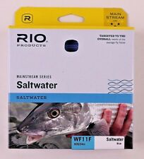 Rio Mainstream Saltwater Fly Line WF11F Blue FREE SHIPPING 6-20764