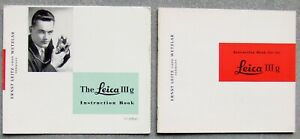 LEITZ LEICA 111g INSTRUCTION MANUAL + INSTRUCTIONS IN BRIEF