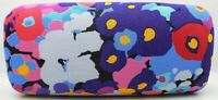 Vera Bradley Sunglasses Case Impressionista Pattern Large Hard Shell Case NEW