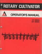 AUG.1976  ALLIS-CHALMERS ROTARY CULTIVATOR OPERATOR'S MANUAL 588821 (733)
