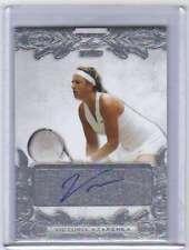 2015 Leaf Ultimate Tennis Silver Etched Autograph AUTO /25 Victoria Azarenka