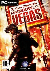 Tom Clancy's Rainbow Six Vegas pc dvd rom gioco game nuovo sigillato ita