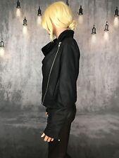 HELMUT LANG Leather jacket - Black - Large