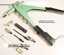 Riv Nut Rivet Nut threaded insert puller 3 tools in one riv nut tool & FREE S.H.