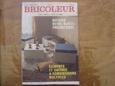 1971 LE BRICOLEUR plans conseils bricole et brocante SOMMAIRE EN PHOTO n° 68
