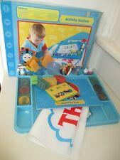 Thomas & Friends Activity Station - Play Mat, Thomas Stencils, Pencils, Crayons